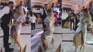 Wanda Nara show, ballo sexy alla festa di Icardi