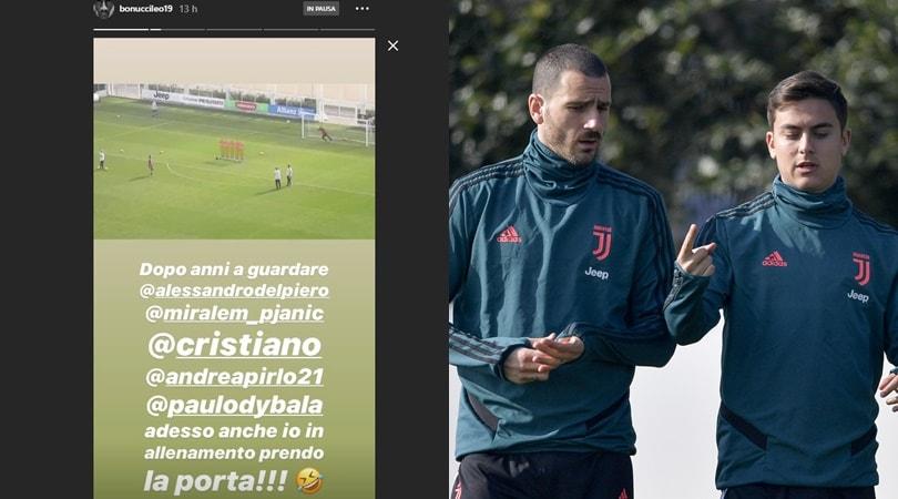 Juve, Bonucci scherza sui social: la risposta di Dybala è esilarante
