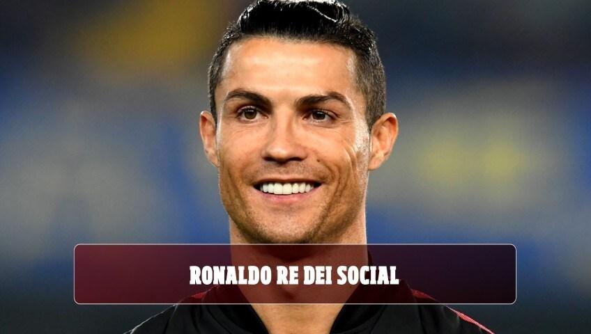 Ronaldo re dei social: ecco quanti soldi riceve per un post