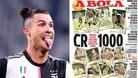 Spal-Juve: Cristiano Ronaldo fa 1000 da professionista
