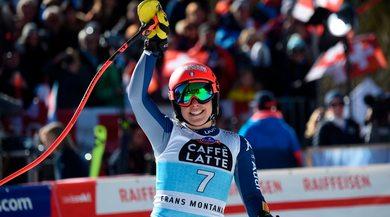 Sci, Coppa del Mondo: vince ancora Lara Gut, giù dal podio la Brignone