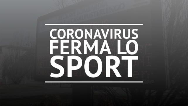 Coronavirus: si ferma anche lo sport italiano