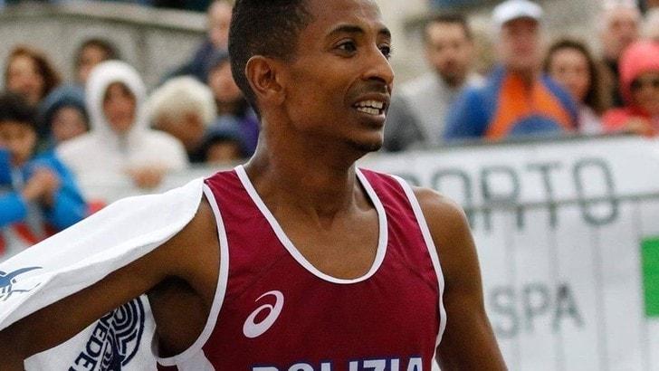 Eyob Faniel stampa il nuovo primato italiano di maratona e vola a Tokyo 2020