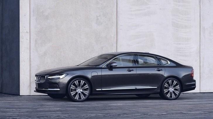 Volvo S90 e V90, motori mild-hybrid e altre novità del restyling