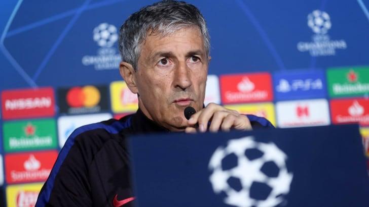 """Barcellona, Setien: """"Napoli con mille qualità"""". Piqué: """"Ha battuto Juve e Liverpool"""""""