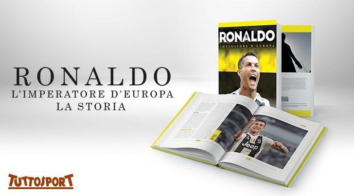 Ronaldo imperatore d'Europa: il libro sul numero 7 bianconero