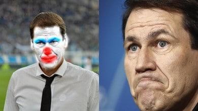 Fotomontaggi di Garcia da clown: il Lione all'attacco