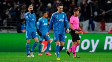 Lione-Juve 1-0:decide Tousart,Pjanic è il peggiore in campo