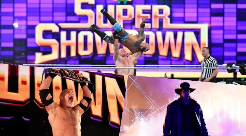 WWE Super ShowDown 2020: le leggende al potere