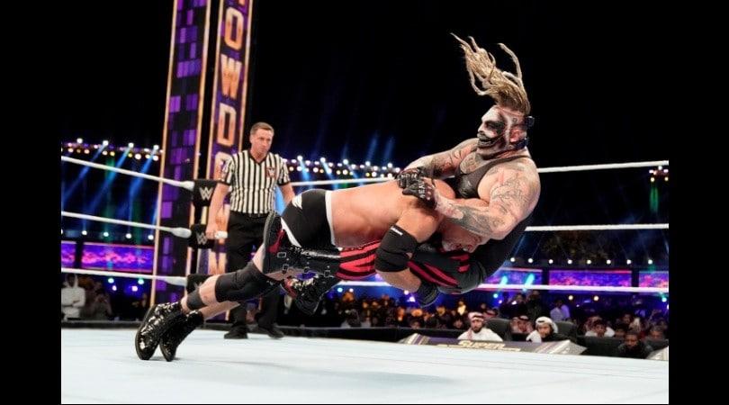 Wrestling, gli highlights di WWE Super ShowDown 2020