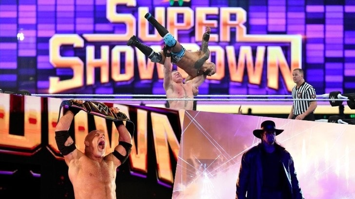 WWE Super ShowDown 2020: sorprese Goldberg e The Undertaker