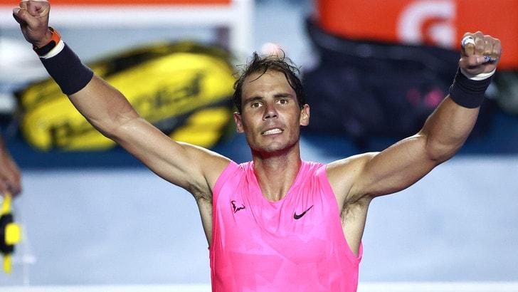 Acapulco, Nadal batte Dimitrov e vola in finale: sfiderà Fritz