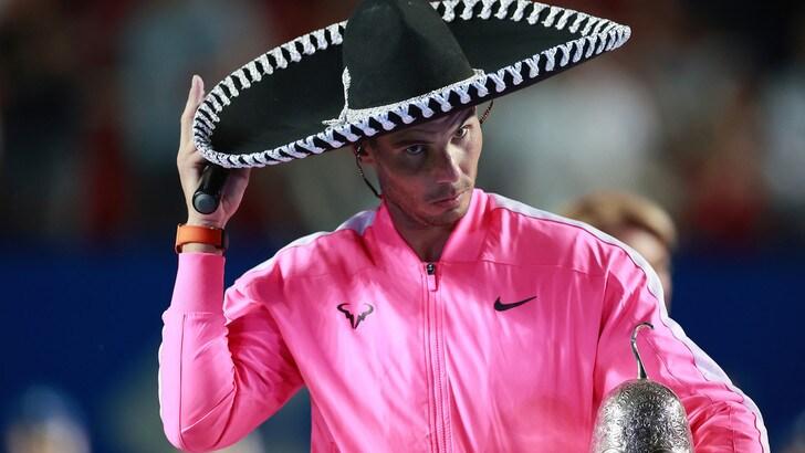 Nadal trionfatore ad Acapulco per l'85° torneo della carriera: Fritz sconfitto 6-3 6-2