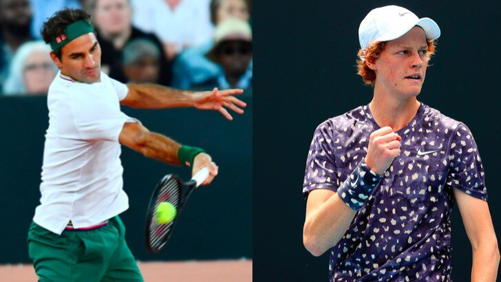 Ranking Atp: Federer scende dal podio, Sinner guadagna quattro posti