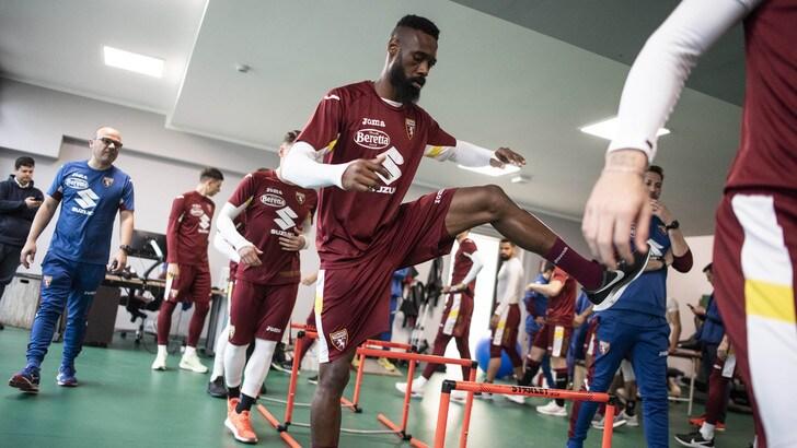 Torino, granata in campo per un doppio allenamento