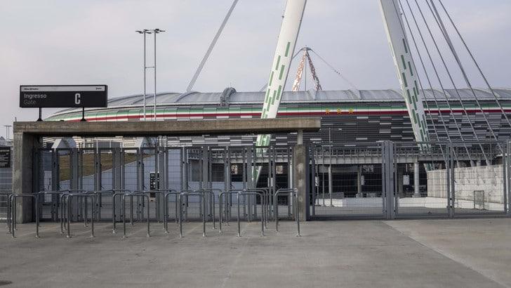 Juve-Inter, Ronaldo e compagni si allenano all'Allianz Stadium