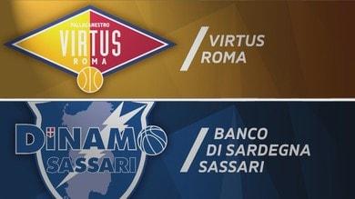 Virtus Roma - Banco di Sardegna Sassari 88-93