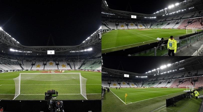 Juve-Inter, teatro del big match è un Allianz deserto