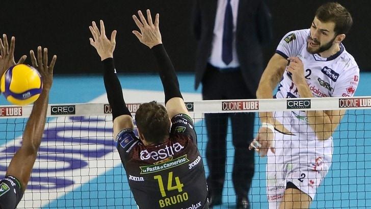 Superlega, rinviate due partite, vincono Civitanova e Modena