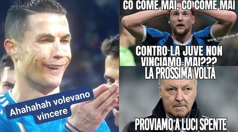 La Juventus batte l'Inter. E il web si scatena