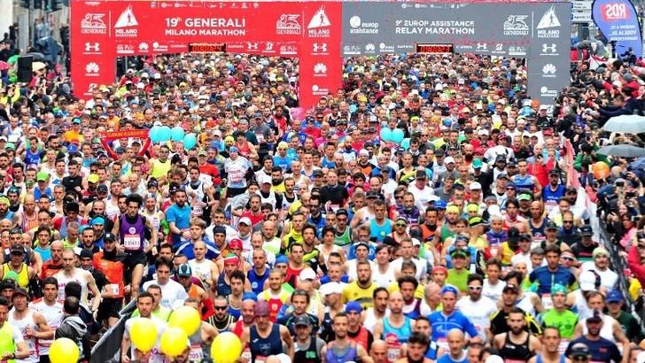 Si ferma anche la Milano Marathon. Chiesta una nuova data