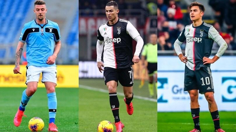 Serie A, da Dybala e Milinkovic-Savic a Cristiano Ronaldo: la top 11 per valore
