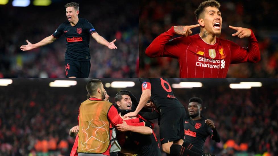 Nei tempi supplementari due reti del centrocampista spagnolo regalano la qualificazione ai quarti ai Colchoneros. Ai Reds non bastano Firmino e Wijnaldum