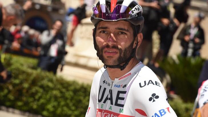 Coronavirus, ciclismo: Fernando Gaviria positivo