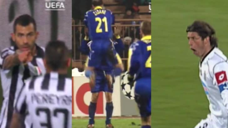 Champions, da Del Piero a Tevez: la Uefa celebra la Juve