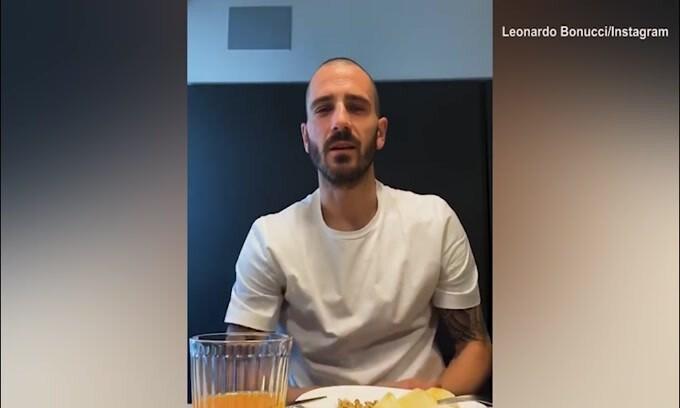 "Bonucci: ""Mangiamo sano e seguiamo le regole"""