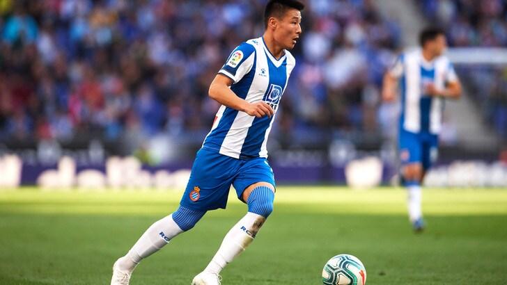 Coronavirus, positivo l'attaccante dell'Espanyol Wu Lei