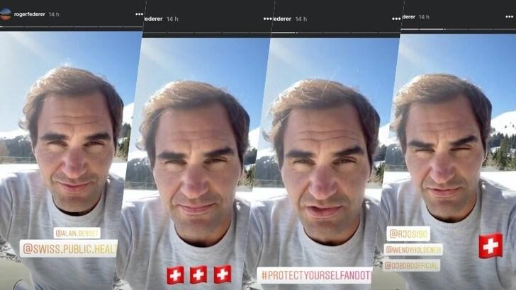 Coronavirus, Federer ammonisce: