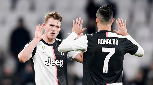 Pagellone Juve: Ronaldo quasi perfetto. De Ligt sì che vale!