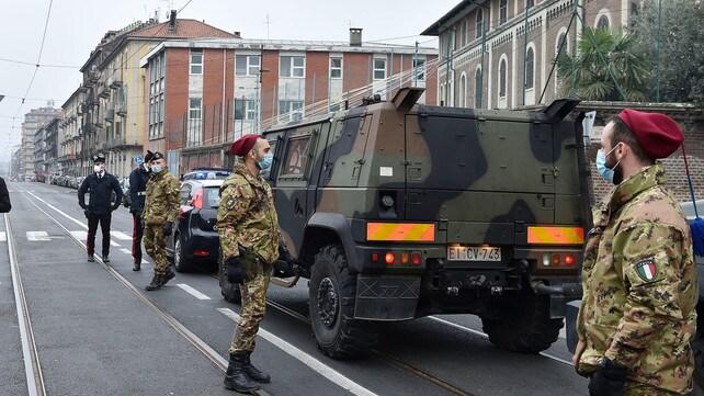 Coronavirus, l'Esercito a Torino