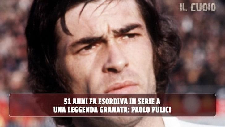 Paolo Pulici, 23 marzo 1969: 51 anni fa l'esordio col Torino