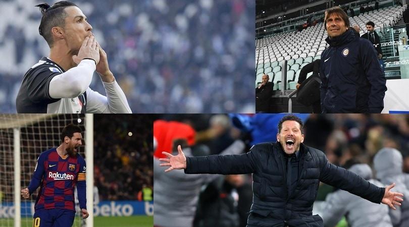 """""""Da Messi e CR7 a Conte e Simeone: i più pagati al mondo"""""""