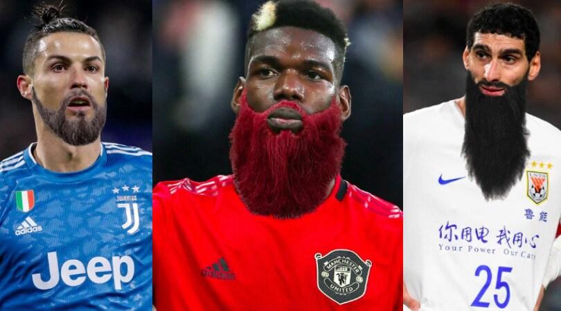 Coronavirus, da Ronaldo a Pogba: la barba dei calciatori dopo la quarantena...