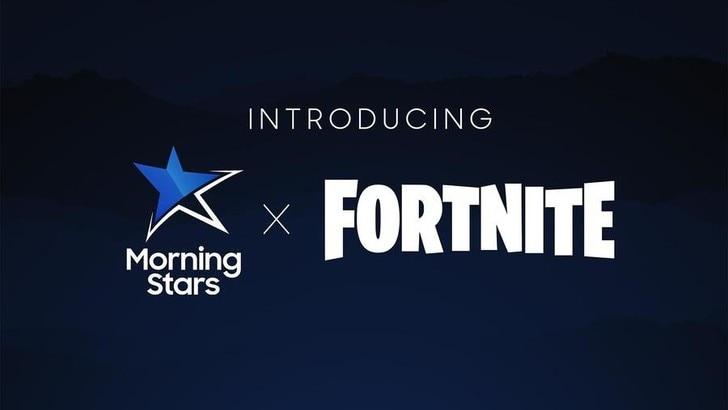 Samsung Morning Stars: Ufficiale il nuovo team di Fortnite