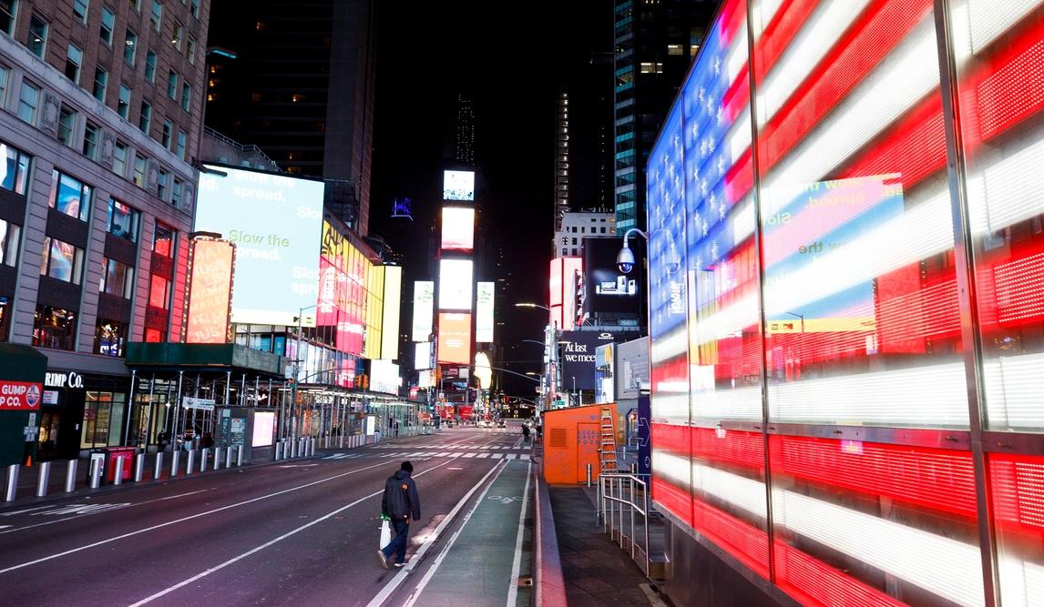 Coronavirus, da Los Angeles a New York: USA spettrali