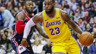 Coronavirus, giocatori Lakers negativi dopo la quarantena
