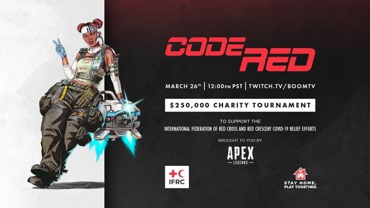 Code Red Charity, il torneo di beneficenza di Apex Legends