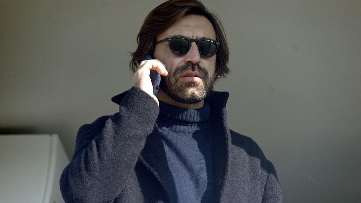 Juventus, Pirlo torna! Sarà l'allenatore dell'Under 23