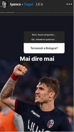 """Lyanco apre ad un ritorno al Bologna: """"Mai dire mai"""""""