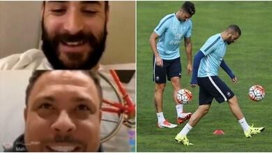 """Benzema scherza con Ronaldo e punge Giroud: """"Io una Formula 1, lui un go-kart"""""""