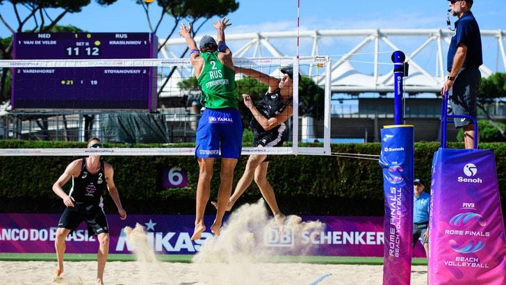 Beach Volley: non si giocherà il 5 stelle di Roma