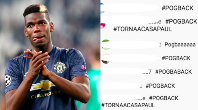 Juve, tifosi scatenati in diretta su Youtube: impazza l'hashtag #POGBACK