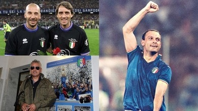 Da Baggio e Schillaci a Vialli e Mancini: che fine hanno fatto gli eroi di Italia '90?