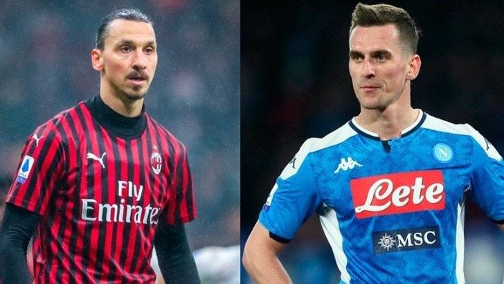 Ibrahimovic s'allontana dal Milan: Milik l'alternativa