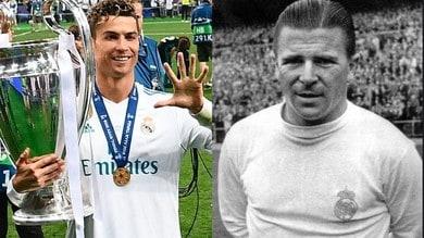 Da Puskas a Cristiano Ronaldo: ecco la top 10 dei marcatori del Real Madrid