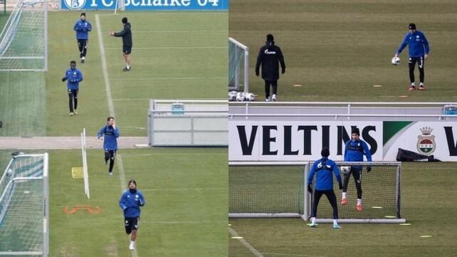 Lo Schalke 04 in campo: il nuovo allenamento ai tempi del Coronavirus